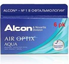 Air Optix Aqua 6 pk